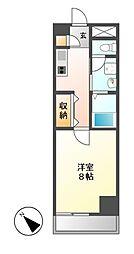 CASSIA大曽根(旧アーデン大曽根)[7階]の間取り
