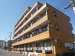 東京都八王子市松木の賃貸アパートの外観