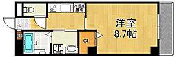 ステラハウス34[4階]の間取り