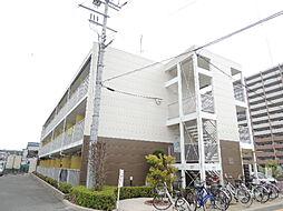 大阪府八尾市南久宝寺3丁目の賃貸アパートの外観