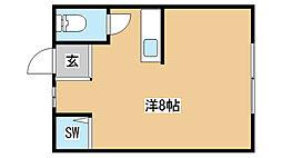 兵庫県神戸市兵庫区西出町1丁目の賃貸マンションの間取り