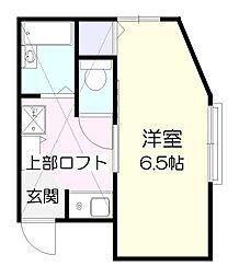 アイビット西生田[2階]の間取り