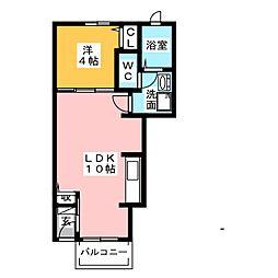 アメニティ II[1階]の間取り