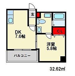 RENGE HOUSE[4階]の間取り