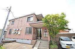 兵庫県姫路市飾磨区中浜町1丁目の賃貸アパートの外観