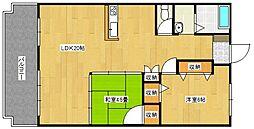 フジマンション[1階]の間取り
