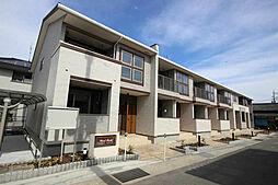 滋賀県近江八幡市大森町の賃貸アパートの外観