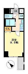 プレサンス東別院駅前コネクション[5階]の間取り