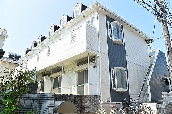 川田マンション[1階]の外観