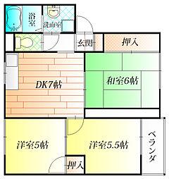 コートファミーユ[2階]の間取り