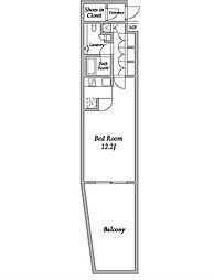 HF碑文谷レジデンス[1階]の間取り