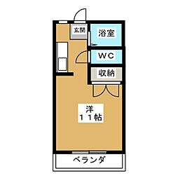 S−PALACEIII[1階]の間取り