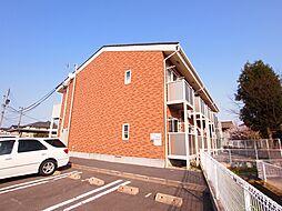 新潟県新発田市新富町3丁目の賃貸アパートの外観