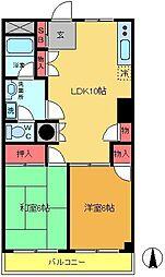 第一金子ビル[3階]の間取り