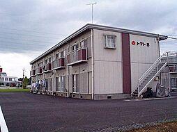 栃木県塩谷郡高根沢町光陽台3丁目の賃貸アパートの外観