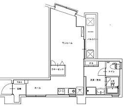 ニューサンシャインビル[7階]の間取り