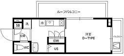 B CITY APARTMENT TACHIKAWA[3階]の間取り