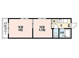 平丘台マンション[3階]の間取り