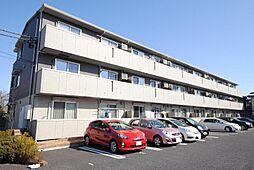 埼玉県越谷市越ケ谷の賃貸アパートの外観