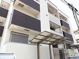 大阪府大阪市住吉区遠里小野3丁目の賃貸アパートの外観