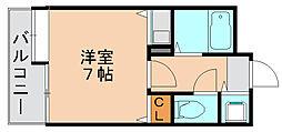 フォルムビストゥール博多[10階]の間取り