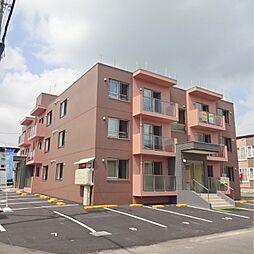 北海道江別市高砂町の賃貸マンションの外観