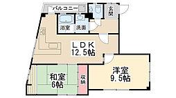 桜井ビル[301号室]の間取り