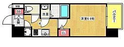 ファーストレジデンス大阪BAYSIDE[5階]の間取り