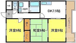 喜連瓜破駅 6.8万円