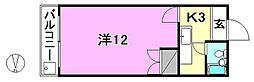 岩田マンション(学生)[202 号室号室]の間取り