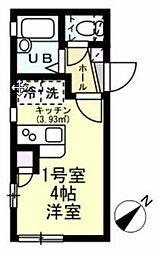 横浜市営地下鉄ブルーライン 踊場駅 徒歩6分の賃貸アパート