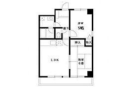コンフォートソシアK[8階]の間取り