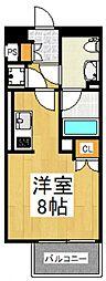 プライムアーバン久米川[4階]の間取り