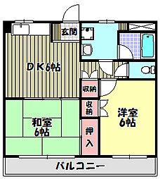 青葉ビル[3階]の間取り