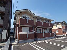 ニューエクレール B[1階]の外観