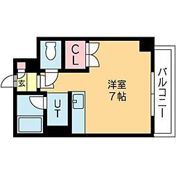 北海道札幌市北区北十一条西3丁目の賃貸マンションの間取り