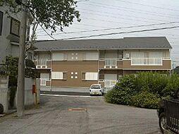 埼玉県川口市行衛の賃貸アパートの外観