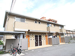 愛知県名古屋市名東区猪子石2丁目の賃貸アパートの外観