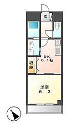 M−stage Aoi[6階]の間取り