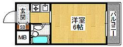 アーク上ノ島[102号室]の間取り
