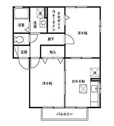 リヴィエールToki A/B[1階]の間取り