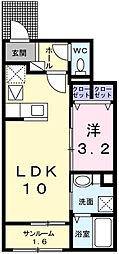 ラ・ルーチェⅠ[1階]の間取り