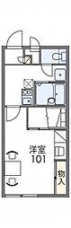 レオパレスTIA Ⅱ[2階]の間取り