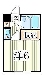 コートヤードシブヤ[3階]の間取り