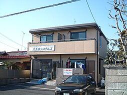 栃木県宇都宮市若草5丁目の賃貸アパートの外観