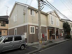 愛媛県松山市愛光町の賃貸アパートの外観