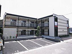 愛知県海部郡蟹江町緑2丁目の賃貸アパートの外観
