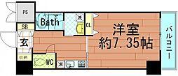 大阪府大阪市西区九条南2丁目の賃貸マンションの間取り
