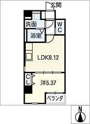 B・B・Park[7階]の間取り