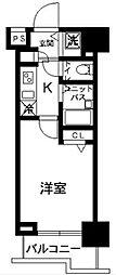 東京都豊島区上池袋1丁目の賃貸マンションの間取り